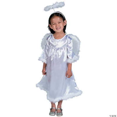 Toddler Girl's Angel Costume - 3T-4T