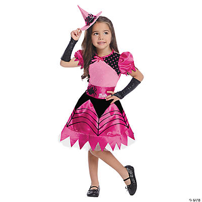 Toddler Girl's Barbie™ Witch Costume - 2T-4T