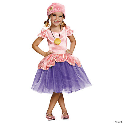 Toddler Girl's Deluxe Disney's Jake & the Never Lane Pirates™ Izzy Costume - 3T-4T
