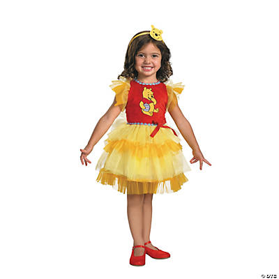 Toddler Girl's Frilly Winnie the Pooh™ Winnie Costume