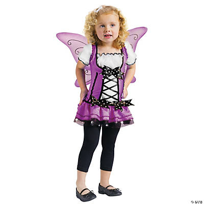 Toddler Girl's Lilac Fairy Costume