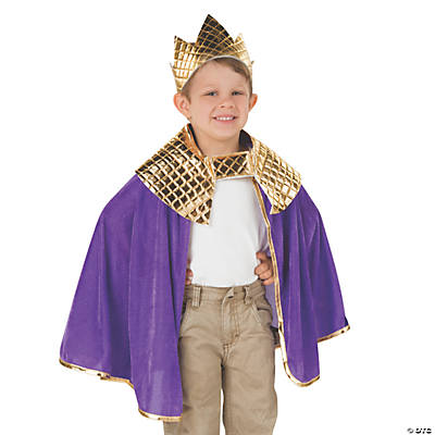 Toddler's Purple Wise Men Costume