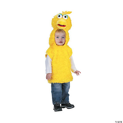 Toddler Sesame Street™ Big Bird Vest Costume