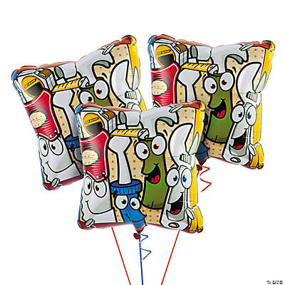Tool Party Mylar Balloon Set