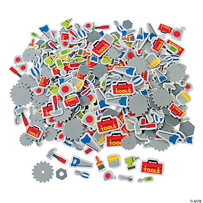 500 Tool Self-Adhesive Shapes