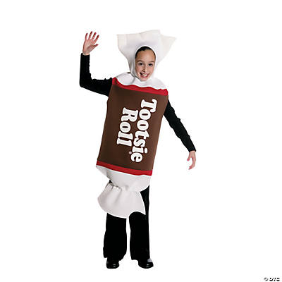 Tootsie Roll Kid's Costume