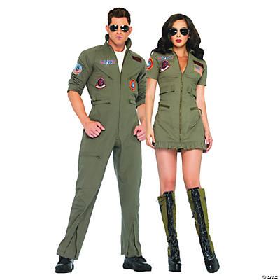 Top Gun Couples Costumes  sc 1 st  Oriental Trading & Best Couples Halloween Costumes | Oriental Trading Company