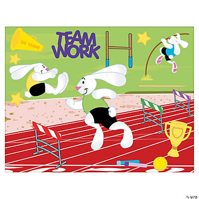 Track & Field Day Sticker Scenes