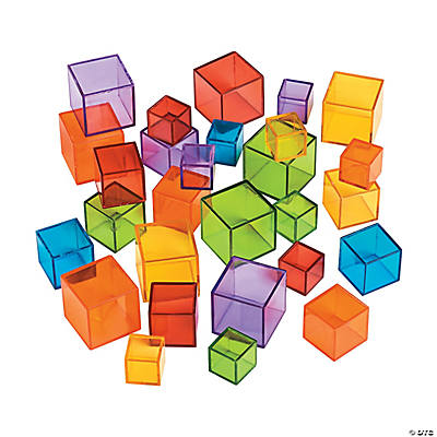 Transparent Cube Counters