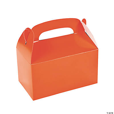 Treat Boxes - Orange