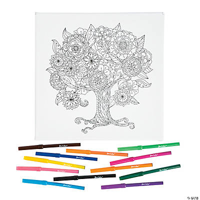 Coloring Canvas Kit