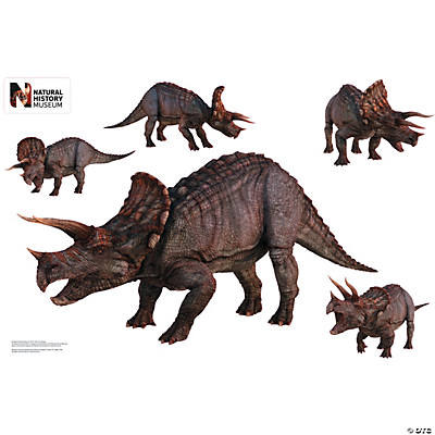 Triceratops Assortment Dinosaur Wall Jammer™ Wall Decal