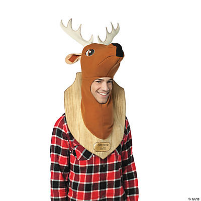 Trophy Head Dear Adult Men's Costume