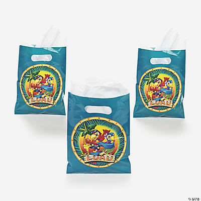 Tropical Parrot Treat Bags