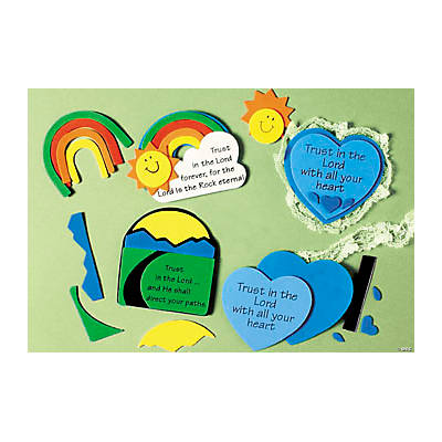 Trust in the Lord Magnet Craft Kit