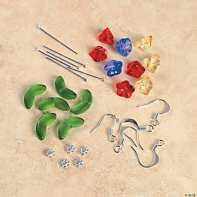 Tulip Earring Glass Bead Kit