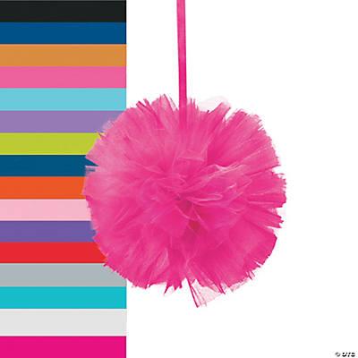 tulle pom pom decorations - Pom Pom Decorations
