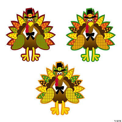 Turkey Bulletin Board Cutouts