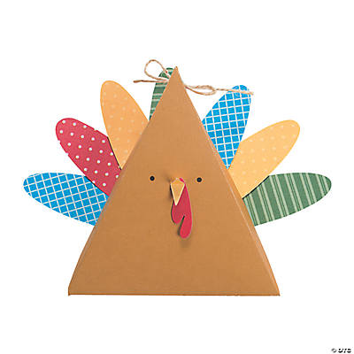 Turkey Treat Box Craft Kit