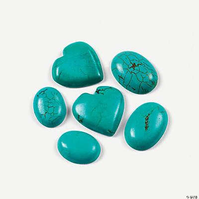 Turquoise Cabochons - 12mm-25mm