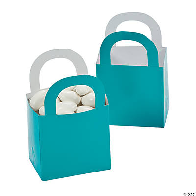 Turquoise Favor Gift Baskets