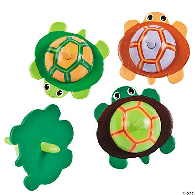 Turtle Spin Tops