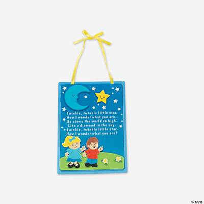 """Twinkle Little Star"" Sign Craft Kit"