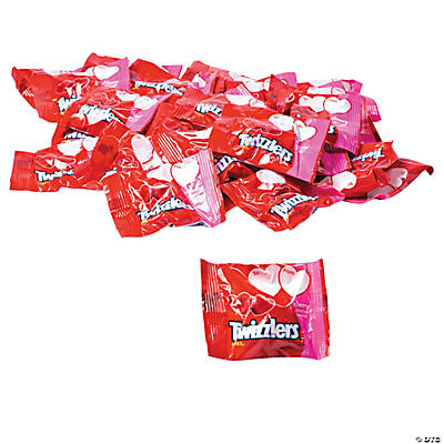 Twizzlers® Licorice Heart-Shaped Valentine Candy Exchange Packs
