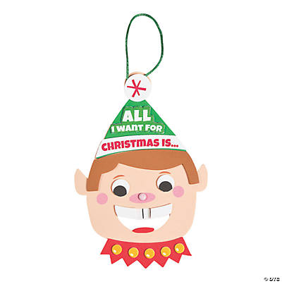 Two Front Teeth Elf Sign Craft Kit