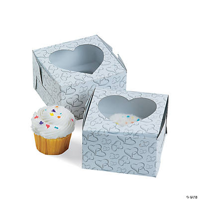 Two Hearts Cupcake Boxes
