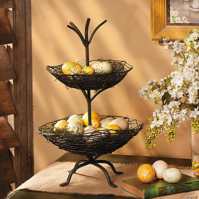 Two Tier Twig Basket