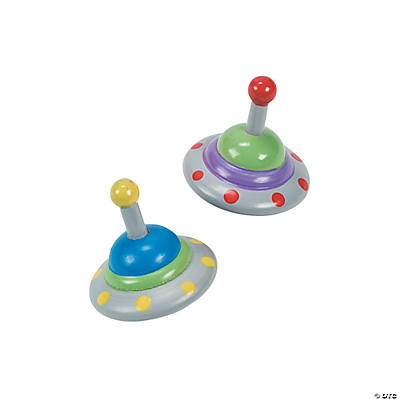 UFO Spin Tops