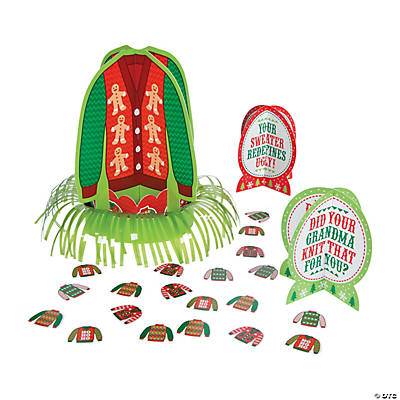 Ugly Sweater Table Décor Kit