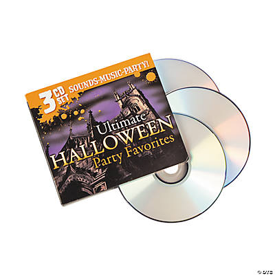 """Ultimate Halloween Party Favorites"" CDs"