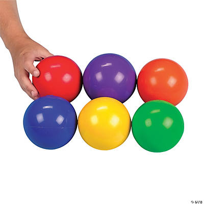 Ultra Light Inflatable Rubber Toss Balls