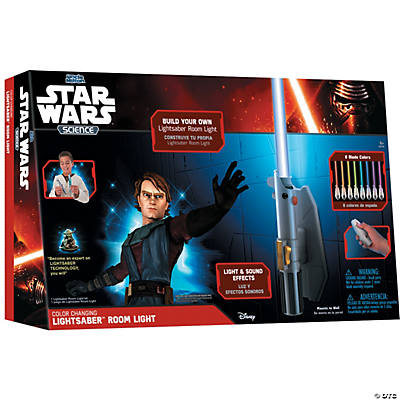 Uncle Milton Star Wars Science Lightsaber Room Light