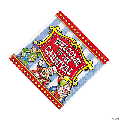 Under the Big Top Luncheon Napkins
