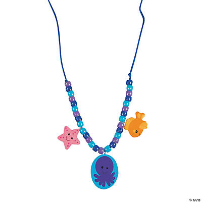 Under the Sea Beaded Necklace Craft Kit