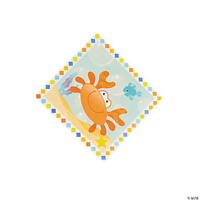 Under the Sea Boy Beverage Napkins