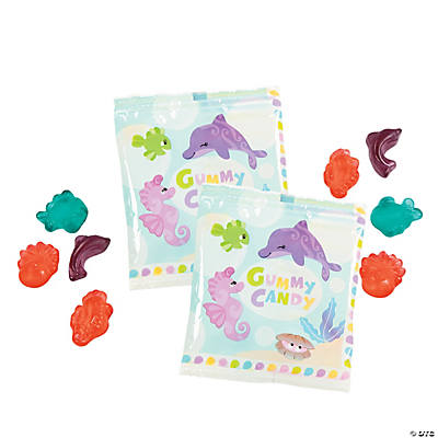 Under the Sea Girl's Gummy Fun Packs