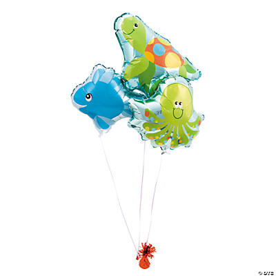 Under the Sea Mylar Balloon Set