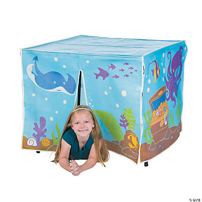 Under the Sea Play Table Tent