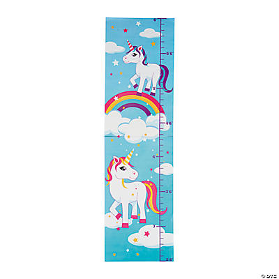 Unicorn Growth Chart Wall Decoration