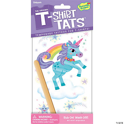 Unicorn T-Shirt Tats Pack