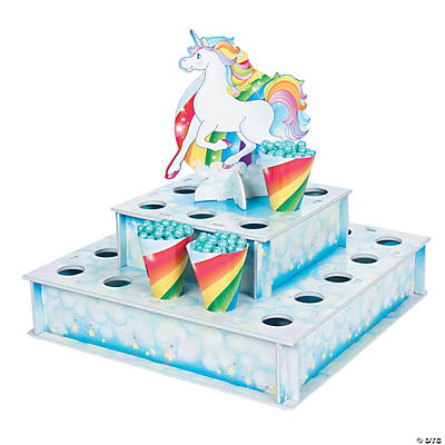 Unicorn Treat Stand with Cones