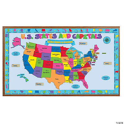 United States Bulletin Board Set Oriental Trading Discontinued