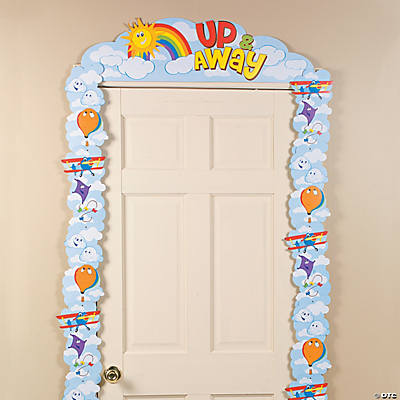 Up & Away Door Border