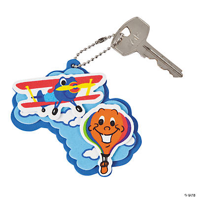 Up & Away Key Chain Craft Kit