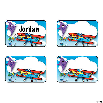 Up & Away Name Tags