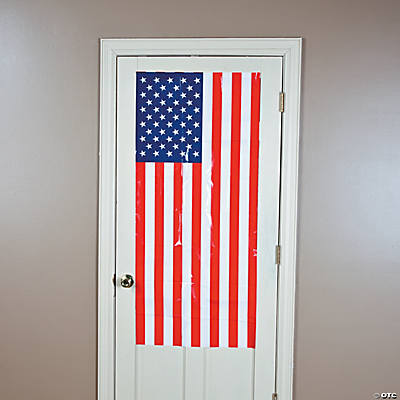 USA Flag Door Cover